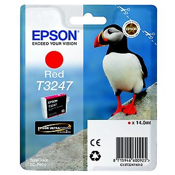 Epson C13T32474010 (T3247) Ink cartridge red, 980 pages, 14ml