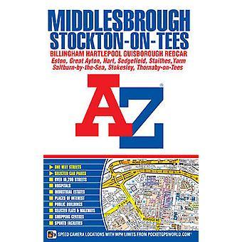 Middlesbrough AZ Street Atlas paperback by AZ maps