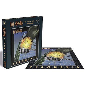 Def Leppard Pyromania Jigsaw Puzzle (500 Pieces)