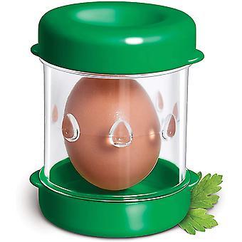 Negative Boiled Egg Peeler, Eggshell Separator(Green)