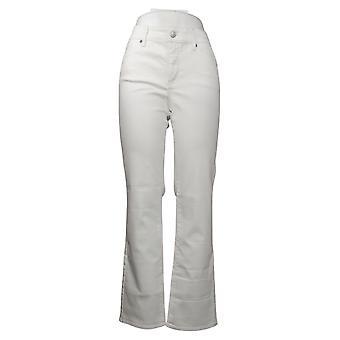 NYDJ Women's Jeans Marilyn Straight Uplift en Cool Embrace White A395678