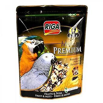 Riga Premium Menu Fruit And Nut Parrots - Doypack - 800 G