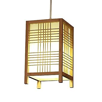 Fin AsiatiskLiving Japansk Lampe Naturlig - Isumi W15xD15xH25cm