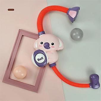 Elettrico Elefante Doccia Giocattoli Bambini Bambino Bagno Spray Acqua Rubinetto Esterno Vasca Sprinkler (Rosa)