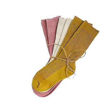 Child Socks Autumn Winter Color Matching Striped