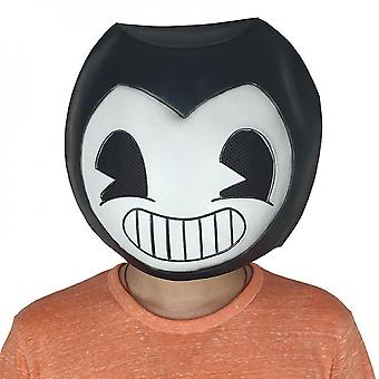 Bendy And The Ink Machine Head Mask Game Halloween Party Cosplay