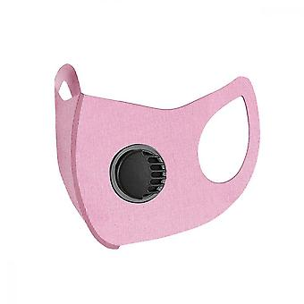 Qian 10 Pcs Anti-fog Mask Washable Face Mask Reusable Protective Mask With Valve For Adults Women Men