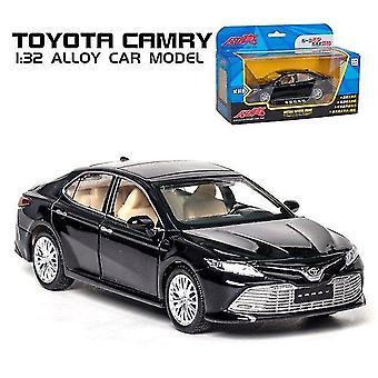 מכוניות צעצוע 1:32 טויוטה קאמרי מכונית סגסוגת המכונית למות צעצוע מכונית מודל קול ואספנות צעצועים קלה לילדים שחור