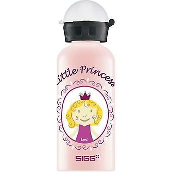 """SIGG """"Little Princess"""" 400ml Aluminium Kids Drinking Bottle Pink - 8730.8"""
