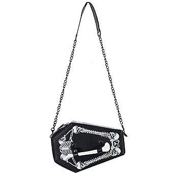 Skull Box Woman Shoulder Bag Handbag Gift