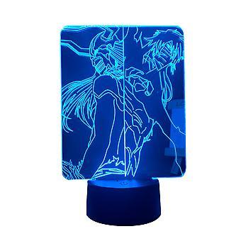 Mój bohater Academia Rumi Usagiyama Anime Lampa