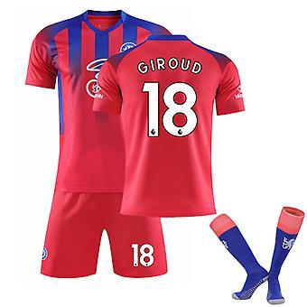 Giroud #18 Jersey 2021-2022 Nouvelle saison Hommes Chelsea F.c. T-shirts de football Ensemble de maillots