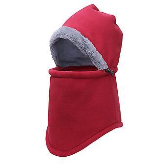 Heavy Fleece Unisex Balaclavas Ski Face Cover Zimowy Neck Warmer Ochronny