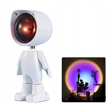 Robot Charging Projection Light/sunset Light/ambient Light/background Light