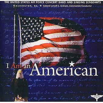 U.S. Air Force Band & Singing Sergeants - I Am an American [CD] USA import