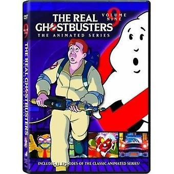 Real Ghostbusters 9 [DVD] USA importerer