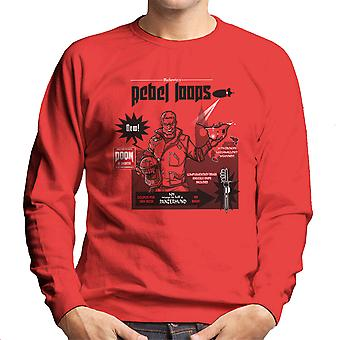 Rebel Loops Wolfenstein Cereal Men's Sweatshirt