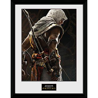 Assassins Creed ursprung synkronisering inramade Collector Print