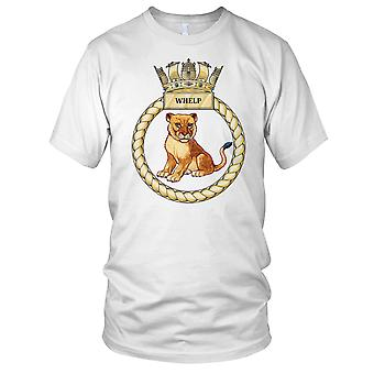 Royal Navy HMS Whelp damer T skjorte