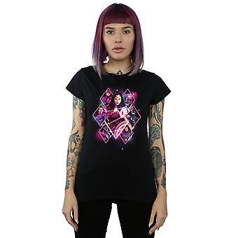 DC Comics Women's Justice League Movie Team Diamonds T-Shirt