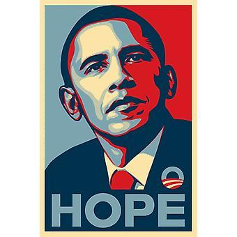 Obama Hope juliste Juliste Tulosta, jonka