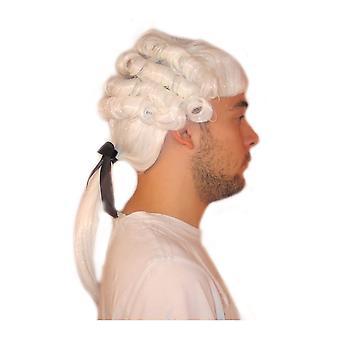 Perruques perruque médiéval homme Mozart