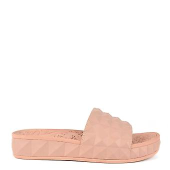 Ash Footwear Splash Nude Studded Slider