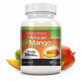 Africa's Finest Pure African Mango 18,000mg - 60 Capsules - Dietary Supplement - Evolution Slimming