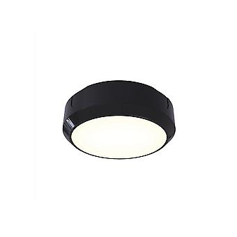 Ansell Delta LDelta LED 8W LED circulaire BulkheadED - photocellule électronique 14W LED noir / Visiluxe