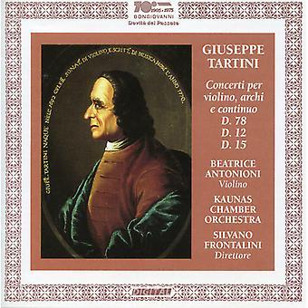 Giuseppe Tartini - Tartini: Violin Concertos [CD] USA import