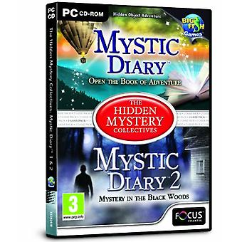 Mystic Diary 1 et 2 - The Hidden Mystery Collectives (Pc CD) - Nouveau
