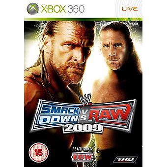 WWE Smackdown vs. Raw 2009 (Xbox 360) - Fabrik versiegelt