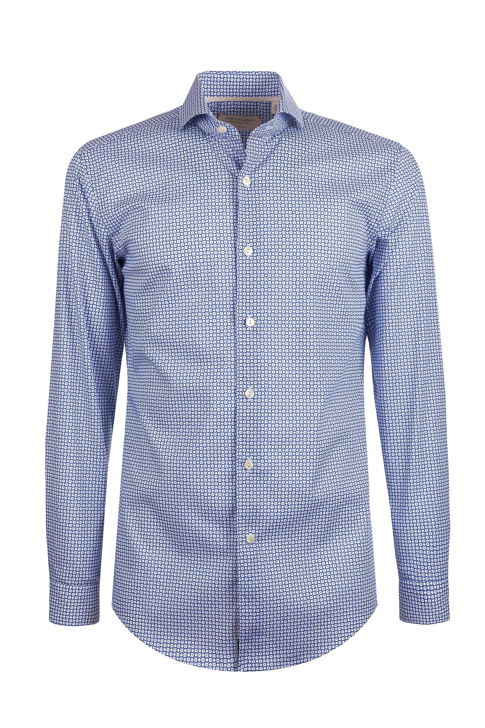 Fabio Giovanni San Lucia Shirt - Mens High Quality Italian Stretch Cotton Shirt