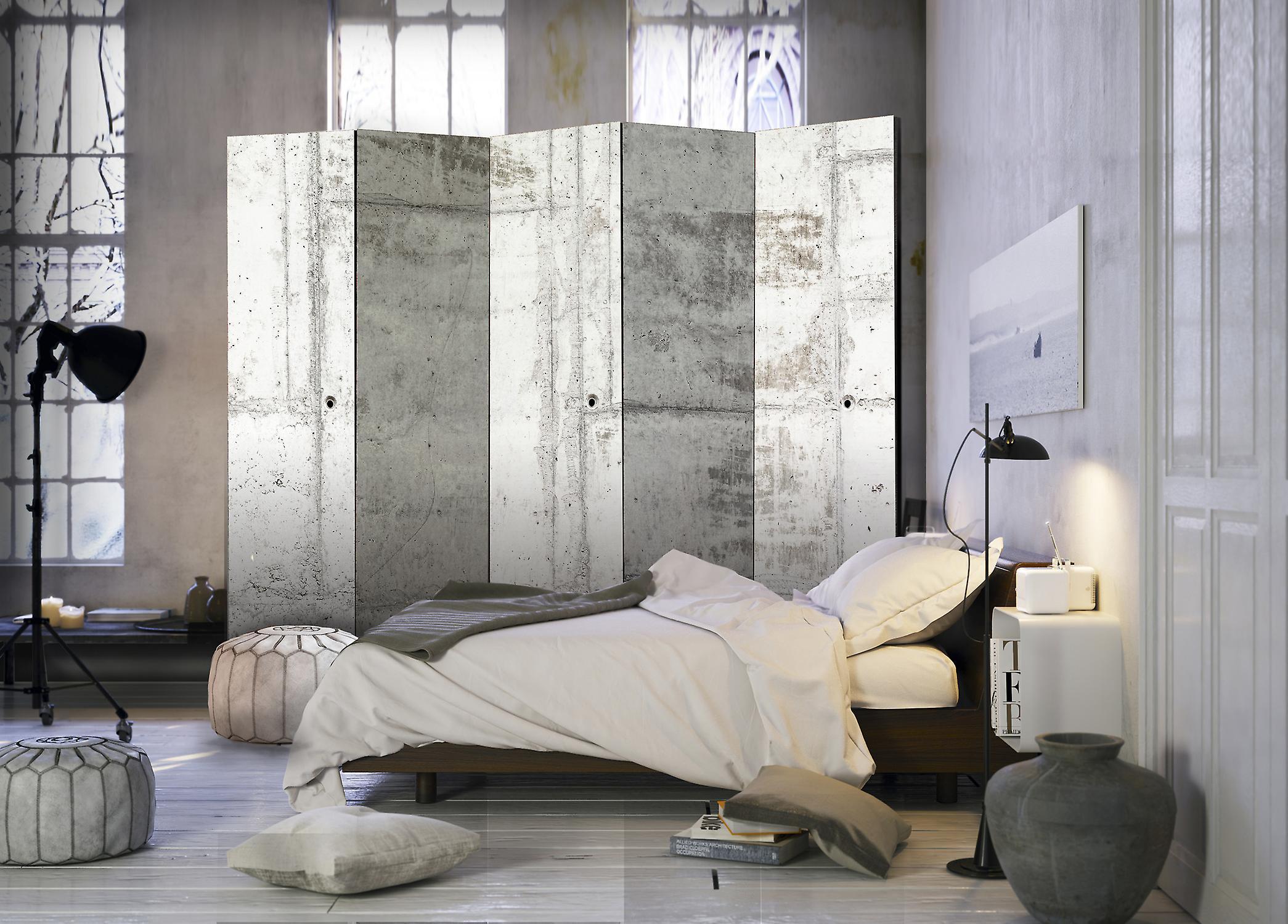 Paravent 5 volets - Urban Bunker II [Room Dividers]