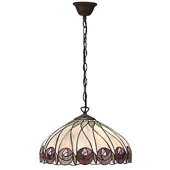 Intérieurs 1900 Hutchinson seul plafond lumineux pendentif en Bronze