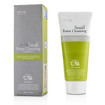 3w Clinic Snail Foam Cleansing - 100ml/3.38oz