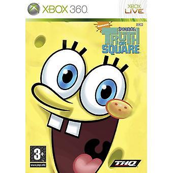 SpongeBob Truth or Square (Xbox 360) - Nouveau