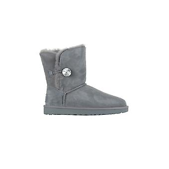 Chaussures de femmes UGG W Bailey bouton Bling 1016553GREY hiver universel