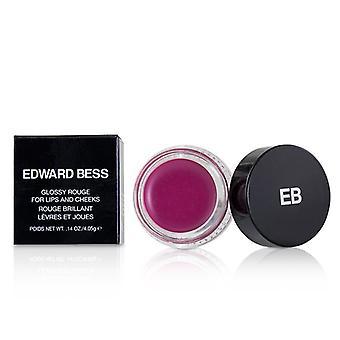 Edward Bess lesklá růže pro rty a líce-# Candid Rose-4.05 g/0.14 oz
