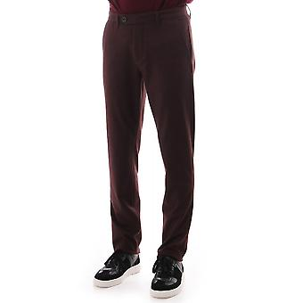 Ted Baker Mens Weyman Slim Fit Brushed Trousers Long