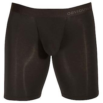 Obviously PrimeMan AnatoMAX Boxer Brief 9inch Leg - Black