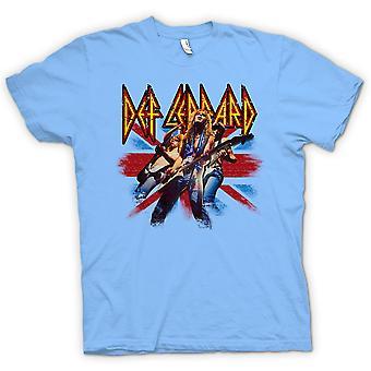 Crianças t-shirt - Def Leppard - Rock britânico