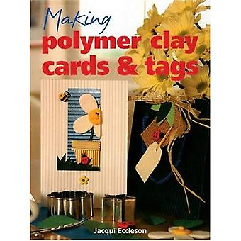 Making Polymer Clay Cards and Tags [Illustrated]