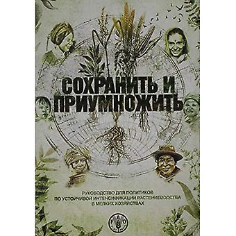Save and Grow, Russian Edition: A Policymaker's Guide to Sustainable Intensification of Smallholder Crop Production