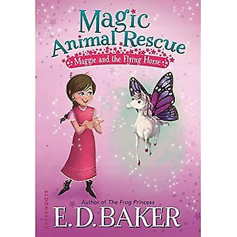 Magische dierlijke redding: Maggie en het vliegende paard