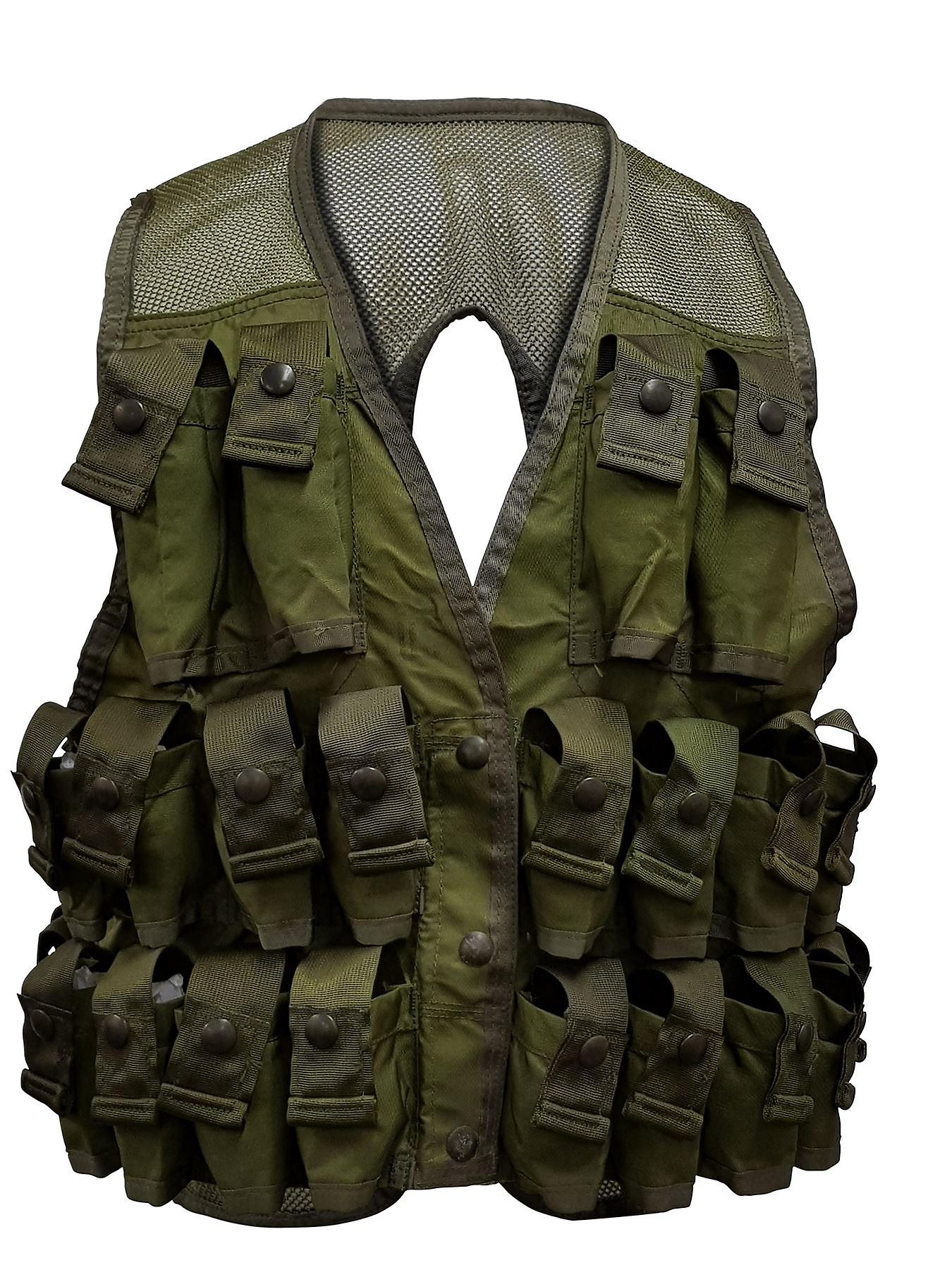 Military 24 Pocket Grenade Vest Paintball Airsoft