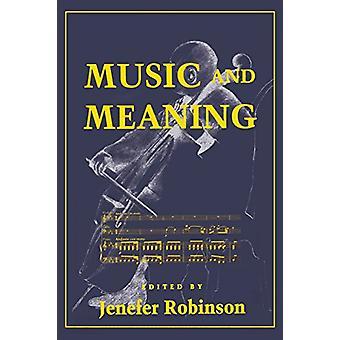 Música y significado de Jenefer Robinson - libro 9780801483677