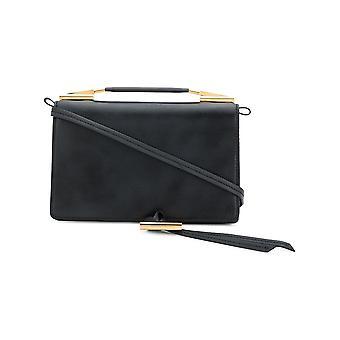 Stella Mccartney 513887w83991000 Women's Black Faux Leather Shoulder Bag