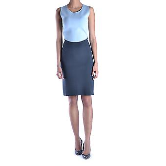 Armani Collezioni Ezbc049052 Women's Light Blue Polyester Dress