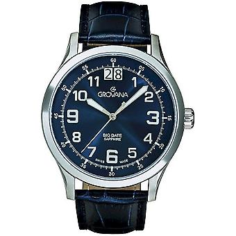 Grovana horloges mens watch van specialiteiten 1743.1535